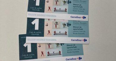 Steun je sportclub @ carrefour